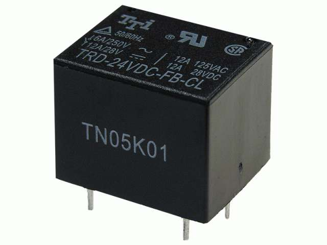 Реле 5 а, trd trd-24vdc-fb-cl, tai-shing electronic components corp